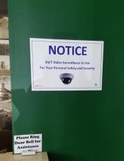 Notice Surveillance Sign