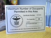 Occupants Sign