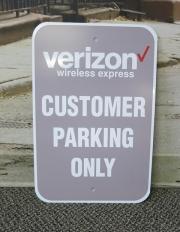 Verizon Parking