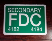Secondary FDC