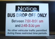 Bus Drop Off