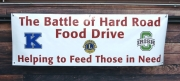 Hard Road Food Drive