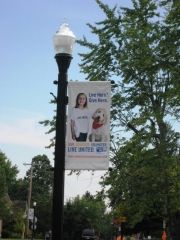 Boulevard Banner - United Way
