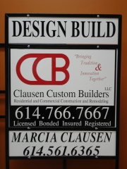 Constuction Company Signs