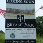 Large Bryant Park Sign