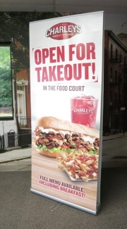 Charleys Double-Sided Banner