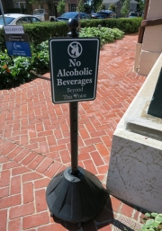 No Alcohol Beyond this point