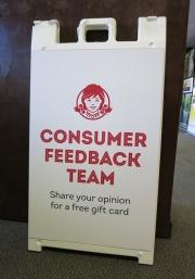 Wendys Consumer Feedback