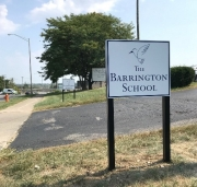 Barrington School Driveway Signs