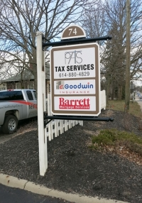 Tax Services Sign