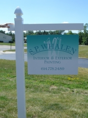 SP Whalen Outdoor Posted Sign