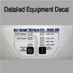 Equipment Decals