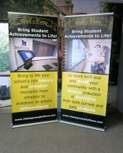 Wall of Fame Retractable Banners