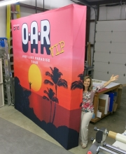 OAR 10x10 Wall with endcaps