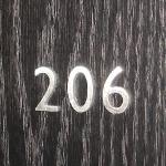 University Housing Door Numbers