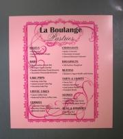 La Boulange Pastries Magnet