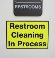 Restroom Cleaning Magnet
