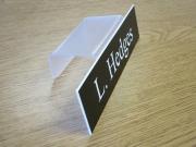 Cubicle Nameplate Holder
