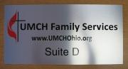 UMCH Silver Suite Sign