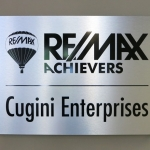 Remax Silver Sign