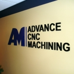 Advance CNC Machining Dimensional Lettering