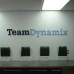 Team Dynamix Dimensional Lettering