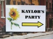 Kaylors Grad Party Sign