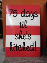Days till Hitched