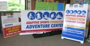 Adaptive Sports Water Event Signs