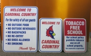 Cardinal Country Signs