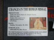 Changes in Roman Missal