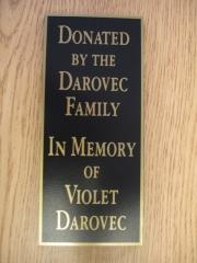 Darovec Donation