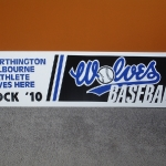 Sports Booster Coroplast Signs