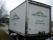 Hope Thru Housing Van