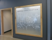 Cahill Construction Map