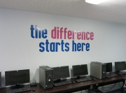 Difference Lettering