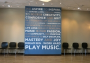 Lewis Center Music Academy Wall