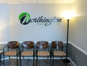 Worthington Foot and Ankle Wall Lettering