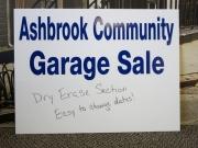 Ashbrook Community Garage Sale