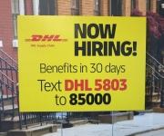 DHL Now Hiring