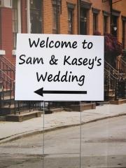 Sam and Kasey Wedding