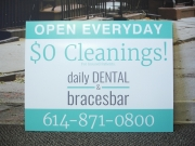 Daily Dental Yard Sign