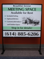 Meeting Space Sign