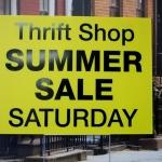 Summer Sale Yard Sign