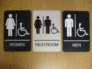 ADA room signage