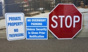 Parking and Traffic Signs