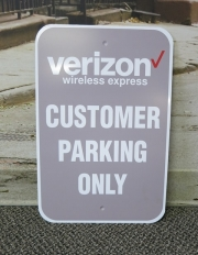 Verizon Parking
