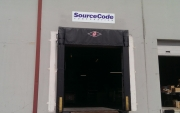 Bay Door Sign