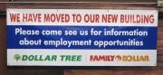 Family Dollar Banner