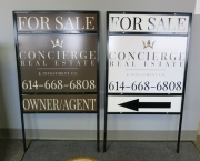 Concierge Real Estate Signs